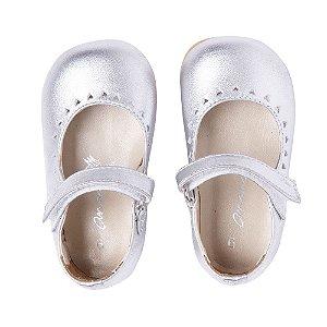 Sapato Ananás Prata Metalico