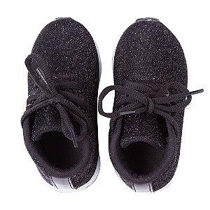 Sneaker Ananás Shine Preta