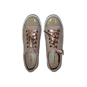 Sneaker Asapatilha Patent Rose