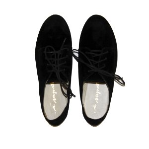 Oxford Asapatilha Preto Suede