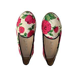 Brogue Ananás Morgana Floral Pink