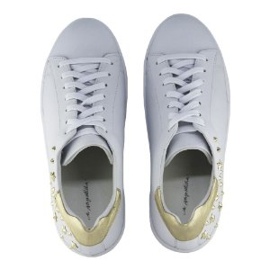 Sneaker Asapatilha White Golden Star