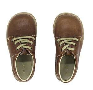 Sapato Ananás Brogue John Caramelo