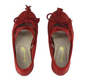 Sapatilha Ananás Mini Bailarina Vermelha