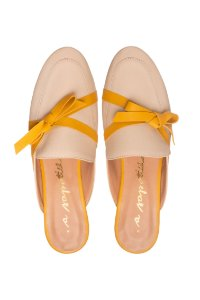 Mule Asapatilha Lace yellow