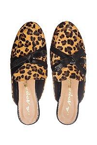 Mule Asapatilha Lace Leopard