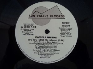 PAMELA NIVENS - IT´S YOU I LOVE