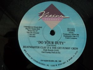 BEATMASTER CLAY D - DO YOUR DUTY