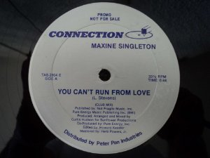 MAXINE SINGLETON - YOU CAN'T RUM FROM LOVE
