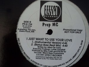 PREP MC - I JUST WANT TO USE YOUR LOVE