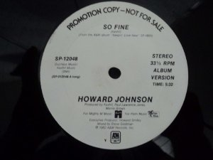 HOWARD JOHNSON - SO FINE