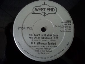 BRENDA TAYLOR - YOU CAN HAVE YOUR  CAKE AND EAT IT TOO