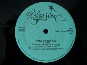 CROWN HEIGHS AFFAIR - MAKE ME THE ONE