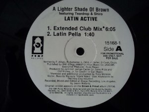 A LIGHTER SHADE OF BROWN - LATIN ACTIVE