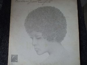 BARBARA JEAN ENGLISH LP(INCLUINDO YOU'RE GONNA NEED SOMEBODY TO LOVE YOU)