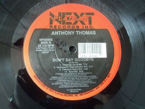 ANTHONY THOMAS - DON'T SAY GOODBYE