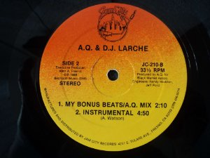 AQ & DJ LARCHE - AND MY BEAT GOES ON