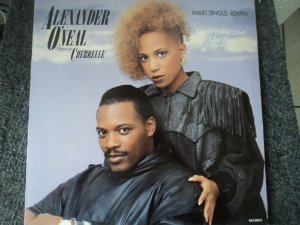 ALEXANDER O'NEAL & CHERRELLE - NEVER KNEW LOVE LIKE THIS
