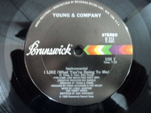YOUNG & COMPANY - I LIKE WHAT YOU'RE DOING TO ME