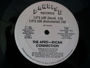 THE AFRO-RICAN CONNECTION - IT'S LIFE/REGINA