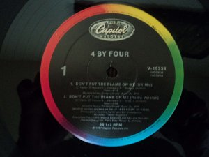 4 BY FOUR - DON'T PUT THE BLAME ON ME