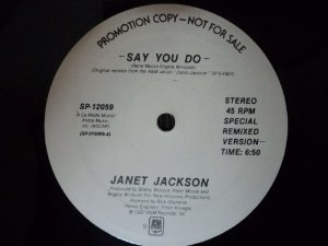 JANET JACKSON - SAY YOU DO