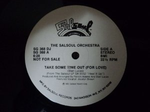 THE SALSOUL ORCHESTRA - TAKE SOME TIME OUT