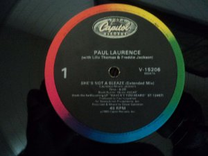 PAUL LAURENCE - SHE'S NOT  A SLEAZE