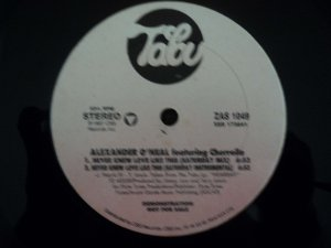 ALEXANDER O'NEAL & CHERRELLE - NEVER KNEW LOVE LIKE THIS(SATURDAY MIX)