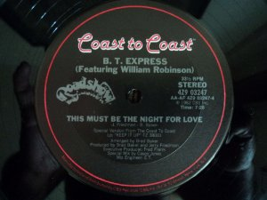BT EXPRESS - THIS MUST BE THE NIGHT FOR LOVE