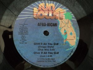 AFRO-RICAN - GIVE IT ALL YOU GOT