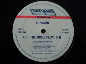 SHANON - LET THE MUSIC PLAY