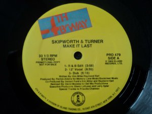 SKIPWORTH & TURNER - MAKE IT LAST