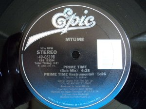 MTUME - PRIME TIME