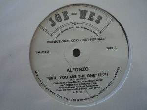 ALFONZO - GIRL YOU ARE THE ONE