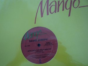 DAVID JOSEPH - LET'S LIVE IT UP