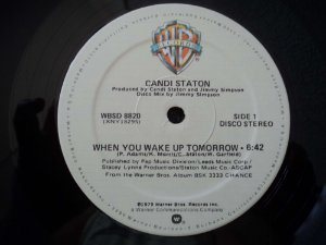 CANDI STATON - WHEN YOU WAKE UP TOMORROW