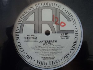 AFTERBACH - IT'S YOU