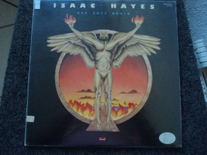 ISAAC HAYES - AND ONCE AGAIN LP JAPONES