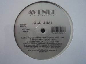 DJ JIMI - WHERE THEY AT