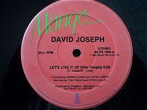 DAVID JOSEPH - LET'S LIVE IT UP