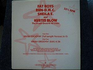 THE KRUSH GROOVE ALL STARS - KRUSH GROOVE FEAT. THE FAT BOYS - RUN-DMC - SHEILA E. - KURTIS BLOW