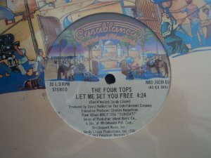 THE FOUR TOPS = LET ME SET YOU FREE