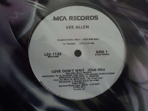 VEE ALLEN - LOVE DON'T WAIT