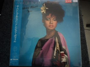 ANGELA BOFILL - SOMETHING ABOUT YOU LP JAPONÊS