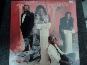 GLADY'S KNIGHT & THE PIPS - ALL OUR LOVE LP