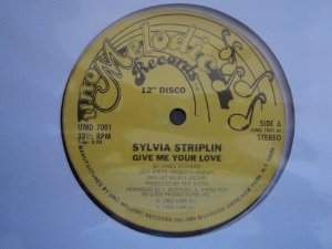 SYLVIA STRIPLN - GIVE ME YOUR LOVE