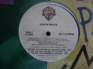 KARYN WHITE - THE WAY YOU LOVE ME