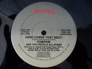 PUMPKIN - HERE COMES THAT BEAT