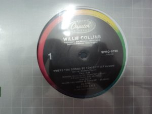 WILLIE COLLINS - WHERE YOU GONNA BE TONIGHT